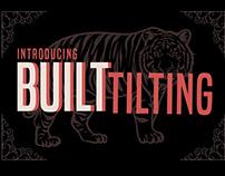 Free Font: Built Tilting