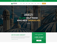 Mosque - Islamic Center Bootstrap PSD Template