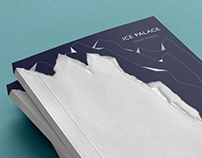 """Book cover for """"Ice Palace"""" of Tarjei Vesaas"""