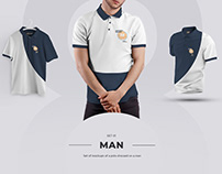 24 Polo Men Mockup ( #4 ) 3 free by december.dsgn