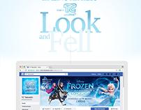 Campaña Frozen para TC en Redes Sociales