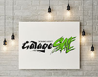 "Logo ""Garage Sale"""