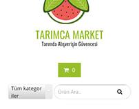 tarimcamarket.com Web design, development and publish
