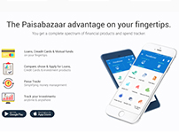 paisa bazar web page