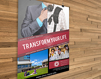 College Poster - Transform Your Life