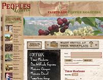 Peoples Coffee Website