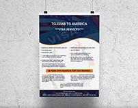 Visa Service Flyer