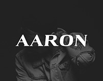 Aaron - Free Serif Demo Font