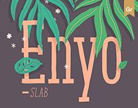Enyo Slab — typeface