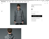 Melange sweatshirt / Bershka Man