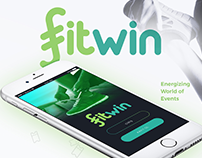 FitWin Running App // UX & UI