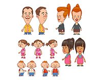 Design Personnages, Animation Cut-out