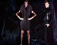 Fashion Editorial 'Blue Night'