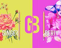 GINGER BERRY Branding Logo