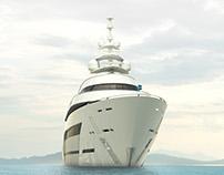 Benetti Yacht - AURA 75m