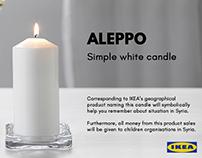Aleppo candle.
