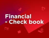 Financial Check Book