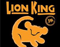 Lion King Jr. Tshirt Design