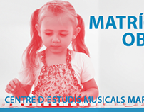 Diseño Campaña - Centre D'Estudis Musicals Maria Grever