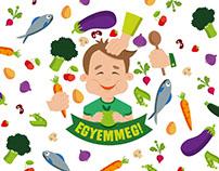 EGYEMMEG! family day. Sustainable dining for children.