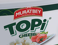 Muratbey Topi Cheese Packaging Design
