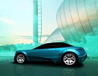 Acura Future Vehicle Microsite