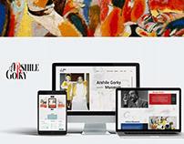 Arshile Gorky Museum / Website Design Concept