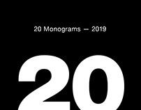20 Monograms — 2019