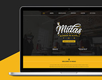 Midas Barber & Supplies, Website