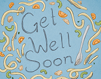 Get Well Soon - Chicken Noodle Soup