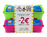 EGGYPLAY Package design