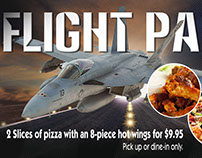 Flight Path Pizza Special