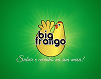 Redesign do mix completo de embalagens Big Frango