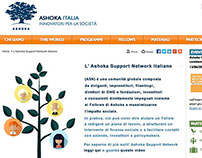 Ashoka Supporter Page Design