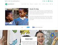 Single Project Page - Nonprofit WordPress Theme