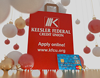 "Keesler Federal Credit Union ""Christmas Credit Card"""