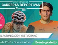 """Evento """"Organizador de carreras deportivas"""", Eventbrite"""