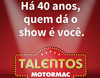 Endomarketing  |  Campanha Talentos 40 anos Motormac