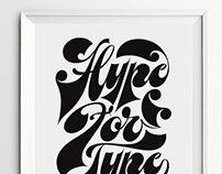 Hype For Type Poster