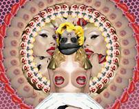Amanda Lepore - Collage Digital