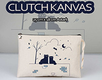 Clutch / El Çantası Modelleri - Canvas Handbags