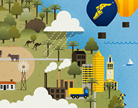 Goodyear Australian Industry Services Illustration