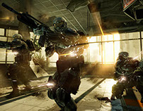 Crysis 2 Level Art - Impact