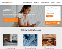 Fidelity Bank Ghana Website Redesign