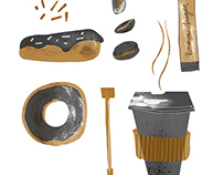 Coffee and Donuts/Tools to feel good