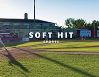 Soft Hit Sports Branding Identity