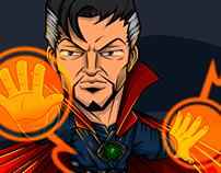 Fan Art Doctor Strange by Azeem