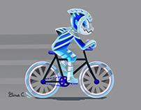 Shark Cyclist