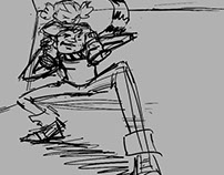 Mark of The Guardian (Storyboarding)