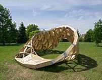Mobius pavilon / reSITE — COLL COLL